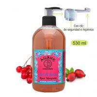 Gel-Rosa-Mosqueta-Baño-y-ducha-Cosmética-natural-Ágave