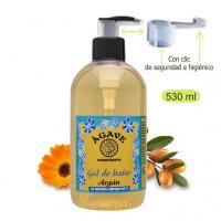 Gel Argán, baño y ducha-Cosmética natural Ágave-500 ml