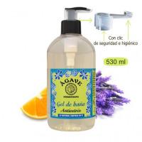 Antiestrés-Gel de Baño y ducha-Cosmética natural Ágave