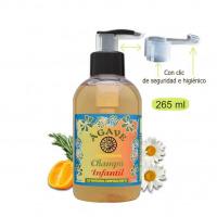 Champú Infantil-Cosmética natural Ágave-250 ml