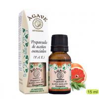 Energético Mezcla de aceites esenciales Cosmetica Agavee