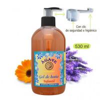 Gel-Infantil-Baño-y-ducha-Cosmética-natural-Ágave